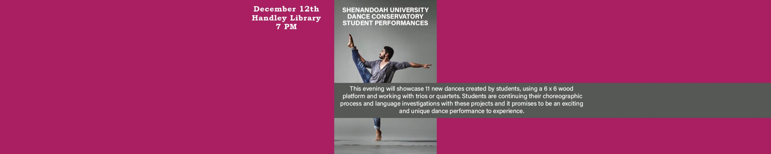 12.12.19 Shenandoah Dance Performance