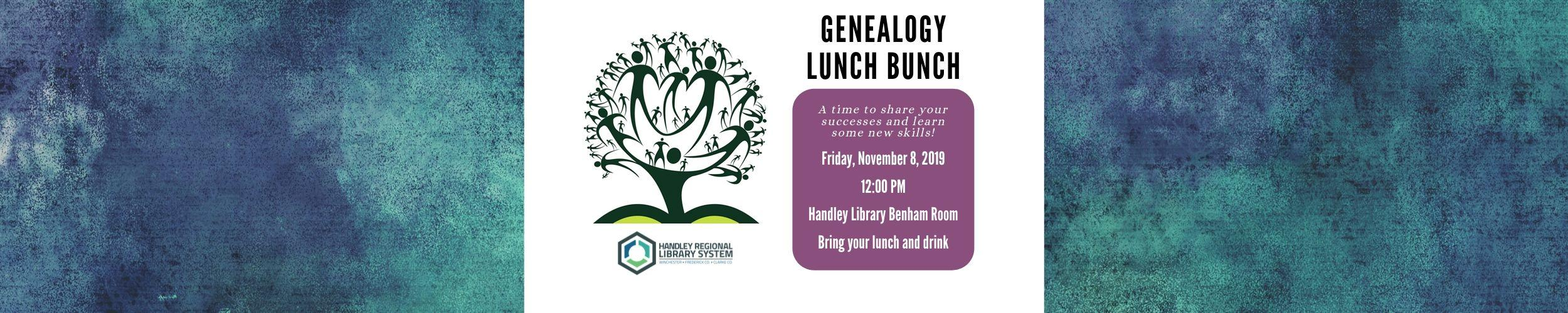 Genealogy Lunch Bunch