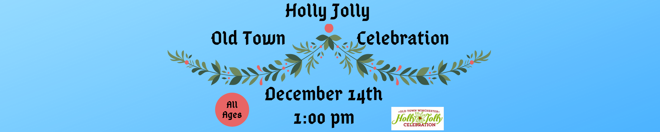 Old Town Holly Jolly slide