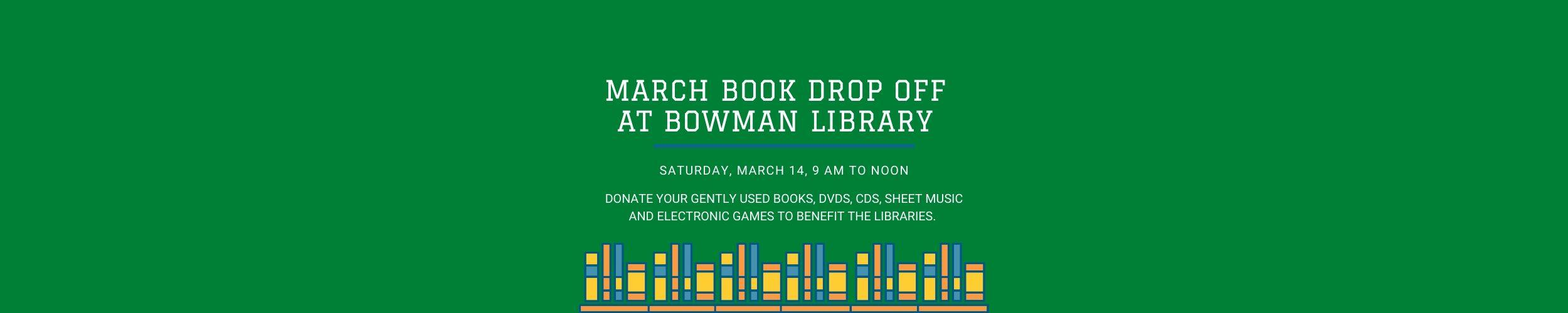Book Drop Off March