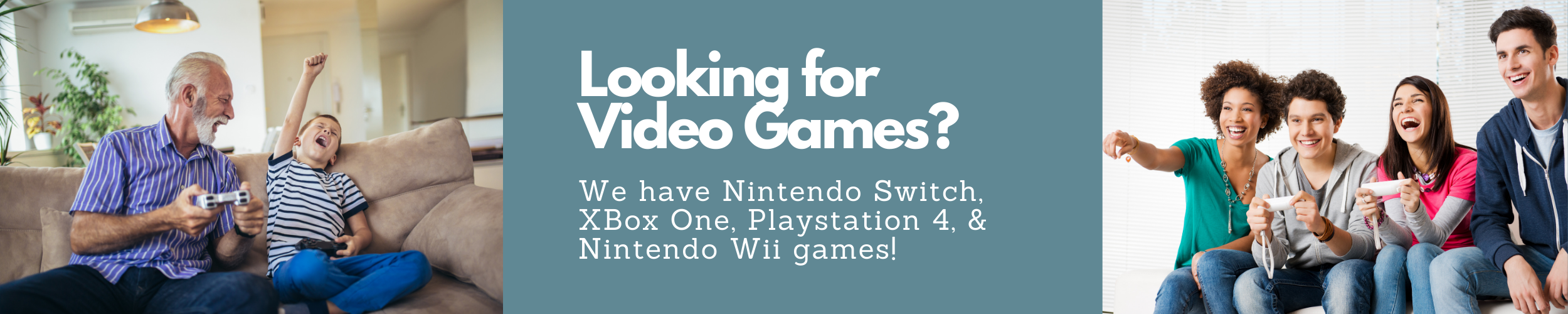 Looking for Video Games?