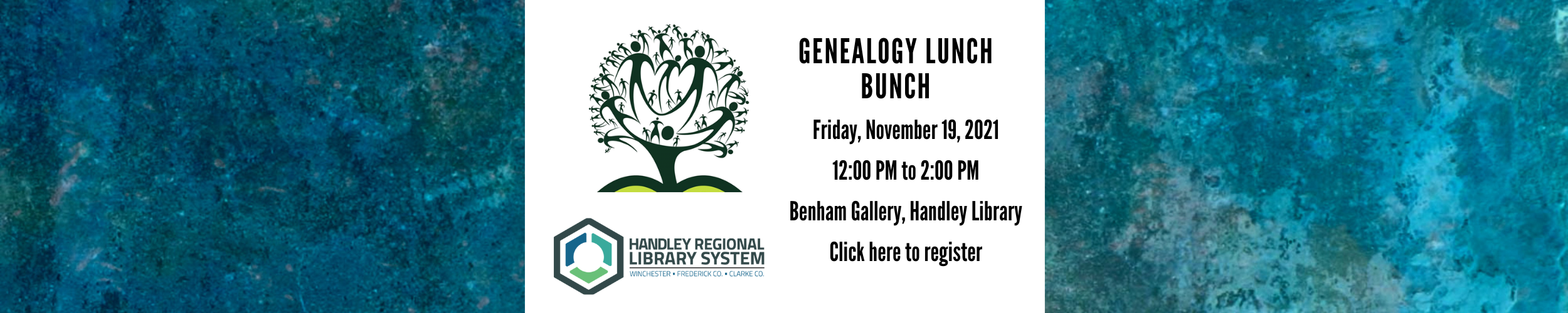 Click here to register for Genealogy Lunch Bunch