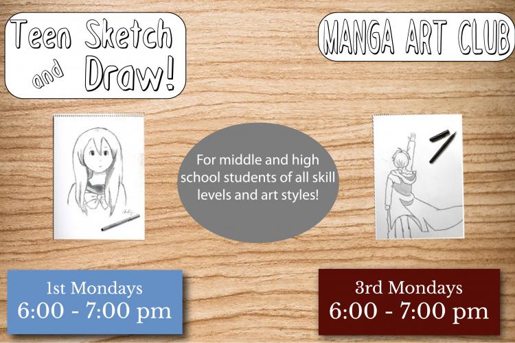 Teen Sketch Club Web