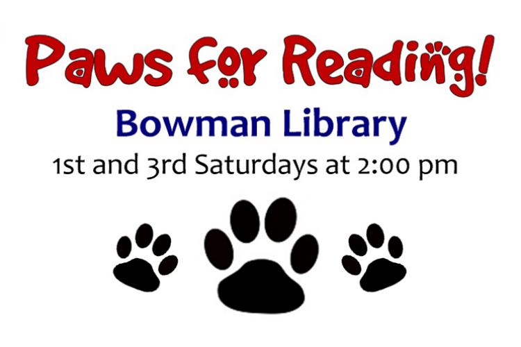 Paws for Reading slide