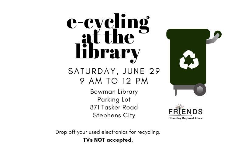 E-cycling in the Library