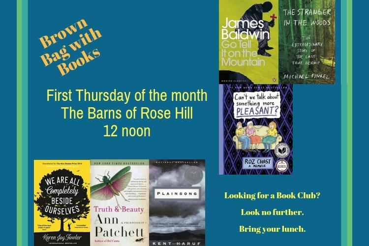 Summer 2019 Brown Bag with Books