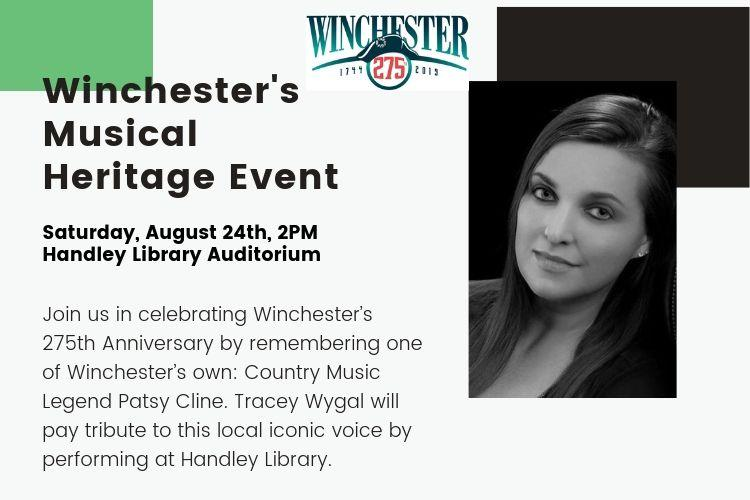Winchester's Heritage Musical Event