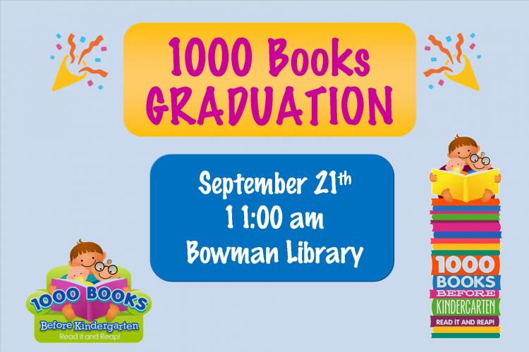 1000 Books Graduation