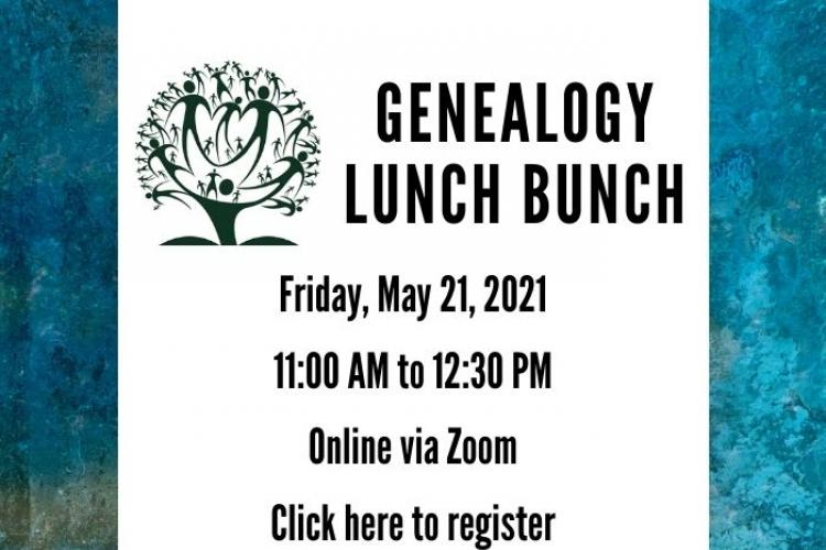 genealogy lunch bunch